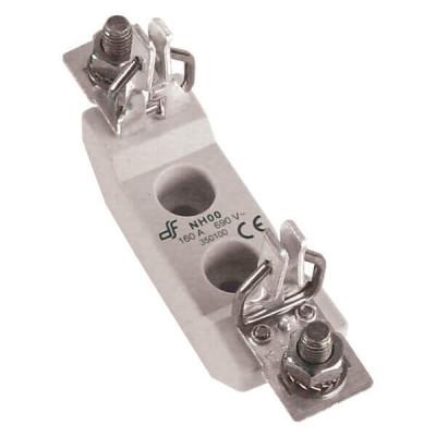 Держатель для ножевого предохранителя DF Electric NH00 ST, 1P, 160A, болт / болт