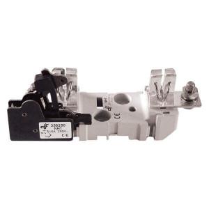Держатель для ножевого предохранителя DF Electric NH1 ST, 1P, 250A, болт / болт, с микропереключателем