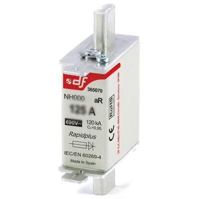 Предохранитель быстродействующий DF Electric NH000, aR, 50A, 690В~, 120кА