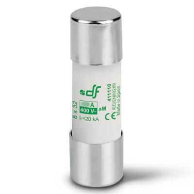Предохранитель DF Electric 6A, цилиндрический 8x32 мм, aM, 400VAC