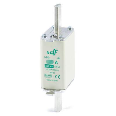 Предохранитель DF Electric 125A, NH0, aM, 500VAC