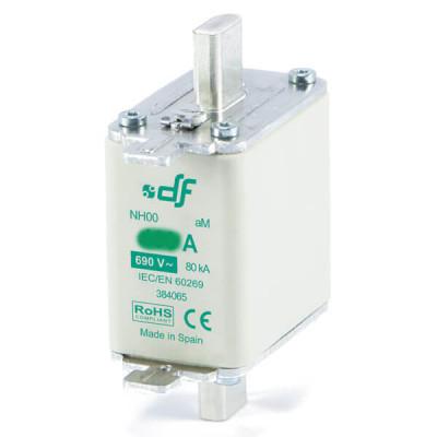 Предохранитель DF Electric 100A, NH00, aM, 690VAC