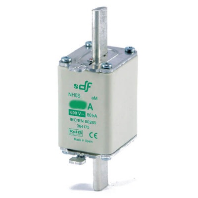 Предохранитель DF Electric 125A, NH0S, aM, 690VAC