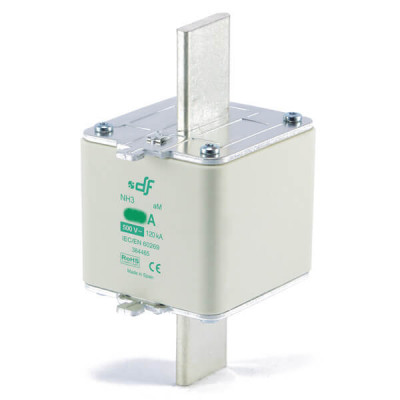 Предохранитель DF Electric 630A, NH3, aM, 500VAC