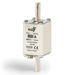 Предохранитель DF Electric 20A, NH0, gG, 500VAC