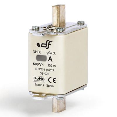 Предохранитель DF Electric 125A, NH00, gG, 500VAC