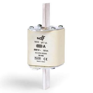 Предохранитель DF Electric 630A, NH3, gG, 500VAC