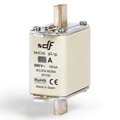 Предохранитель DF Electric 40A, NHC00, gG, 500VAC