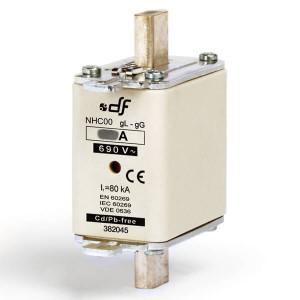 Предохранитель DF Electric 6A, NHC00, gG, 690VAC