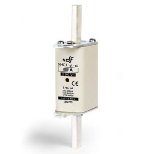 Предохранитель DF Electric 125A, NH1, gG, 690VAC
