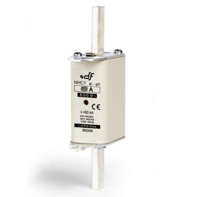 Предохранитель DF Electric 100A, NHC1, gG, 690VAC