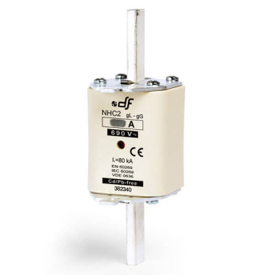 Предохранитель DF Electric 100A, NHC2, gG, 690VAC